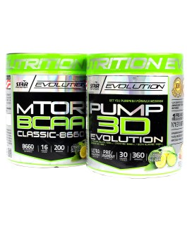 STAR NUTRITION COMBO MTOT BCAA + PUMP 3D