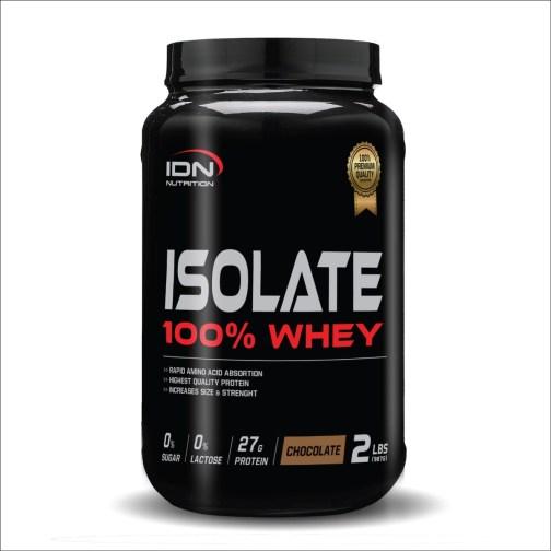 IDN Isolate 100% Whey (909 Grs) Vainilla