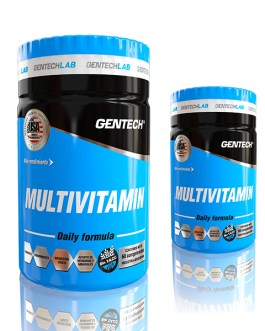 GENTECH Multivitaminico (60 Comp)