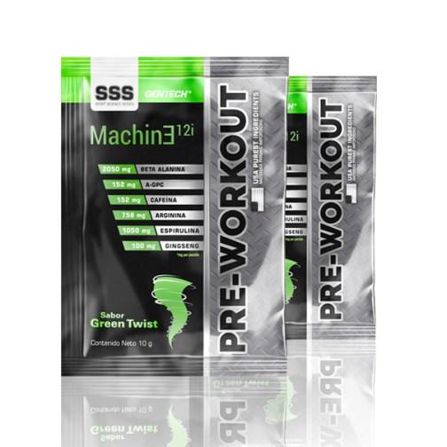 Gentech Machine Pre-Workout Green Twist Sobre III