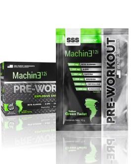 Machine Pre Workout 12I GENTECH (30 Serv)