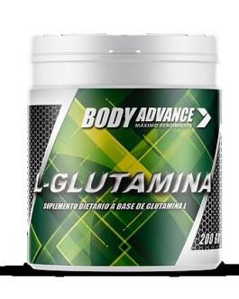 Glutamina BODY ADVANCE (200 Grs)