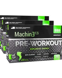 Machine Pre Workout 12I GENTECH (30 Serv)