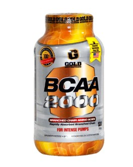 GOLD NUTRITION Bcaa 2000 (120 Comp)