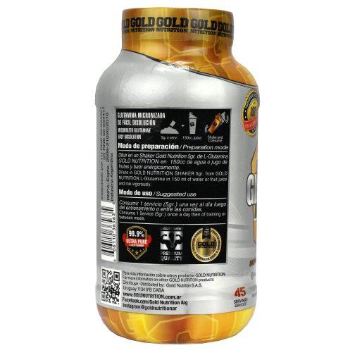 GOLD NUTRITION L-MICRONIZED LADO 2