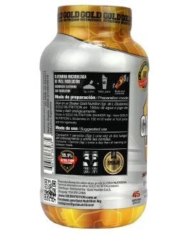 Glutamina GOLD NUTRITION (225 Grs)