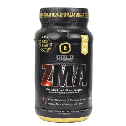 GOLD NUTRITION ZMA LADO 1