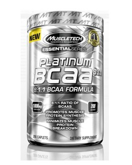 MUSCLETECH BCAA Platinum (200 Caps)