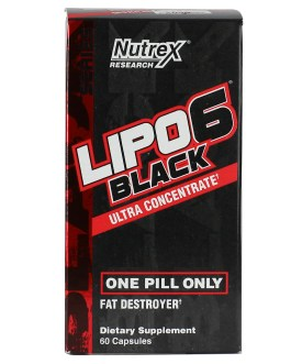 Lipo 6 Black Ultra Concentrate Nutrex (60 Caps)