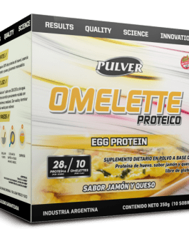 PULVER Omelette Proteico Egg Protein (350 GRS) Jamon y Queso