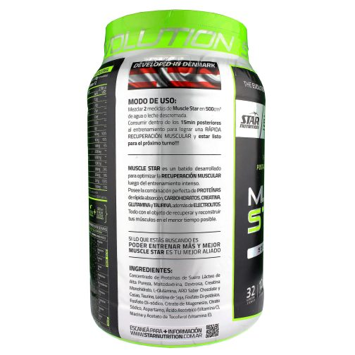 STAR NUTRITION MUSCLE STAR LADO 2