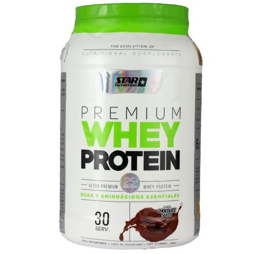 STAR NUTRITION WHEYPROTEIN 1000GRS CHOCOLATE FOTO PRINCIPAL