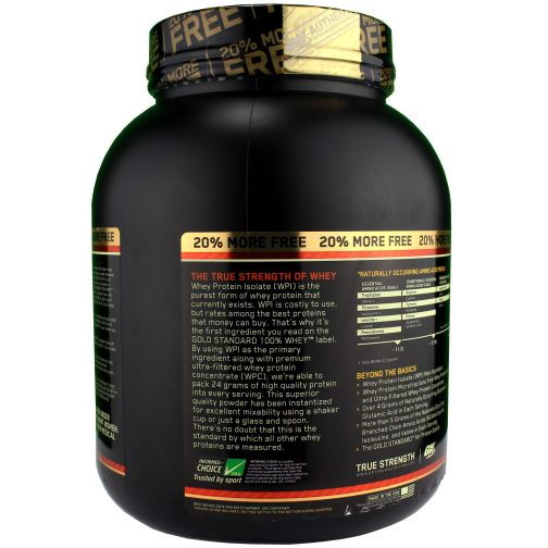 whey gold standard ON
