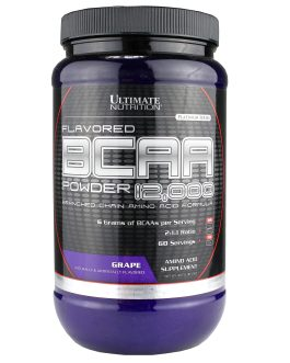 ULTIMATE NUTRITION BCAA POWDER LADO 1