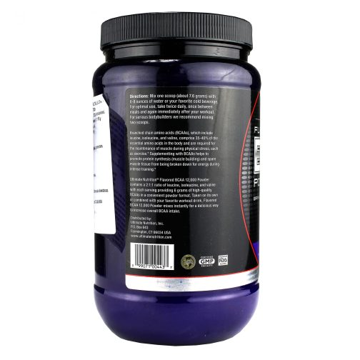 ULTIMATE NUTRITION BCAA POWDER
