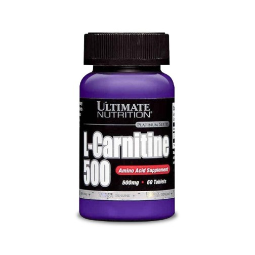 Carnitina ULTIMATE 500 (60 Comp)