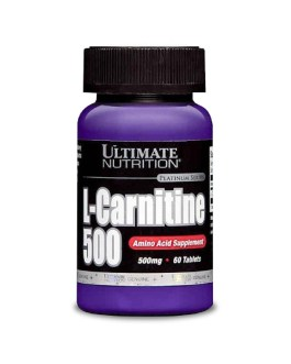 Carnitina 500 ULTIMATE NUTRITION (60 Comp)