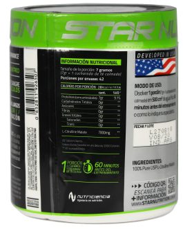 STAR NUTRITION L-Citrulina Malate (300 Grs)