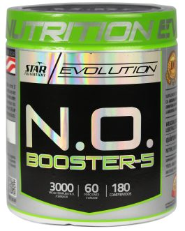 N.O. Booster 5 Evolution STAR NUTRITION  (180 Comp)