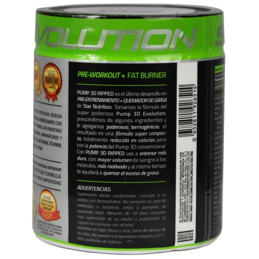pump 3d ripped star nutrition