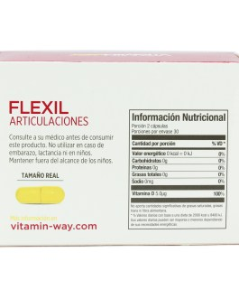 Flexil Articulaciones (60 Capsulas) VITAMIN WAY