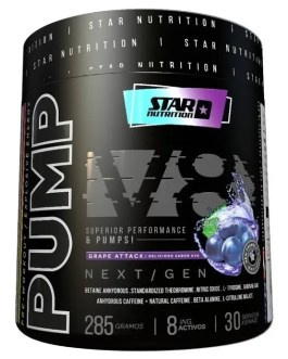 Pump 3d V8 STAR NUTRITION (285 Grs)