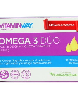 Omega 3 Dúo VITAMIN WAY (30/60 SoftGel)