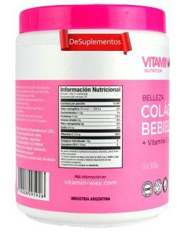 VITAMIN WAY Colageno Bebible Vit C y Q10 (300 Grs) – Frutos del Bosque