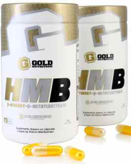 HMB (60 Caps) GOLD NUTRITION