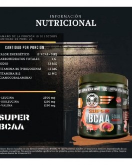 GENERATION FIT Super Bcaa 5000 (250 Grs) – Strawberry Lime