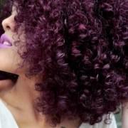 Como pintar o cabelo de roxo com Violeta Genciana