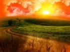 Coucher de soleil autour du monde