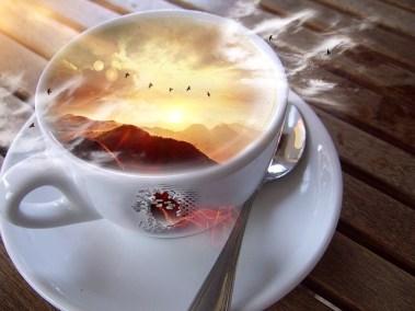 Tasse café souvenirs tour du monde