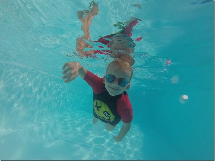 Noah, un nageur déjà confirmé !