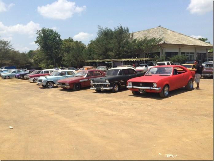 Classic Motor Show Vintage Cars - Tanah Lot