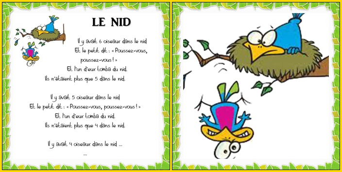 Le nid – Vers les maths MS