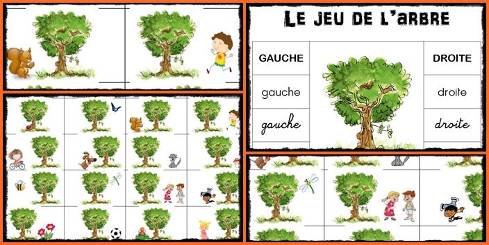 Gauche Droite GS – Le jeu de l'arbre, sur une idée de Mysticlolly