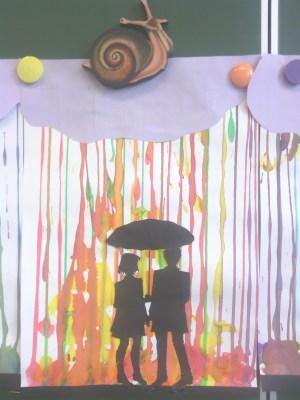 silhouettes sous parapluie 3