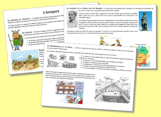 L'Antiquité – Traces écrites CE2