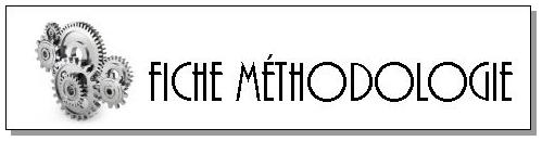 Fiches méthodologiques – CM1/CM2