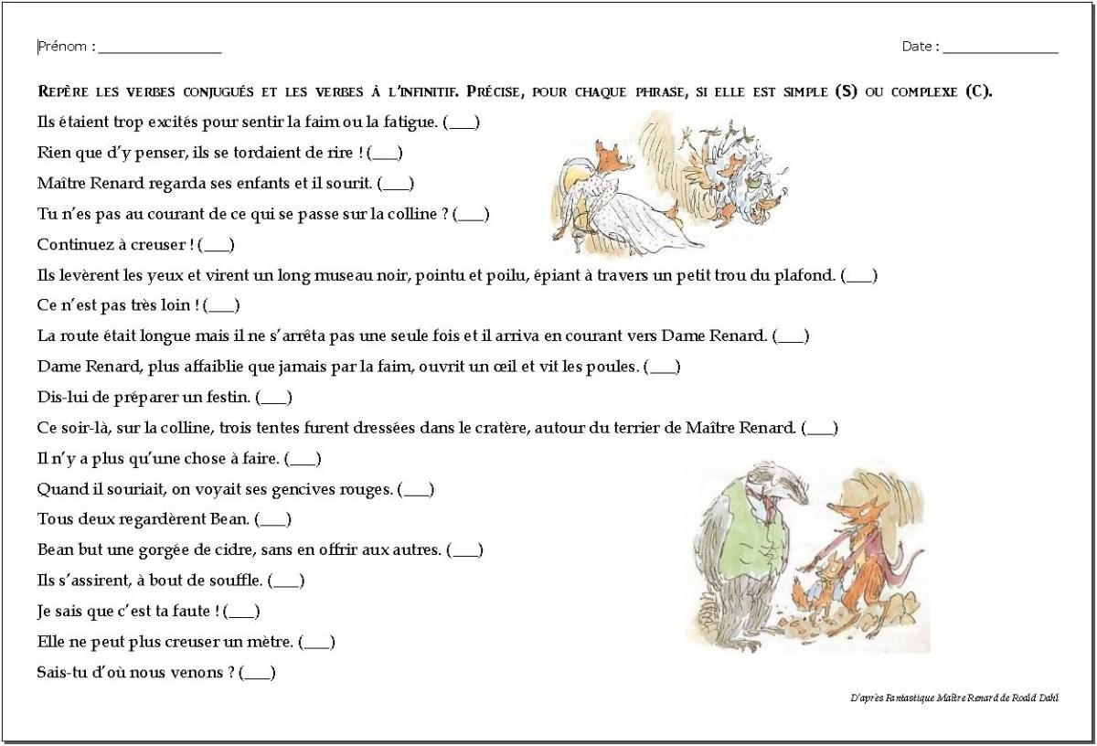 Phrases simples - Phrases complexes CM1/CM2