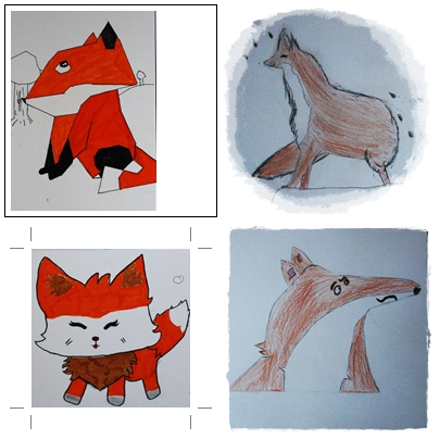 Le renard en arts visuels CM1/CM2