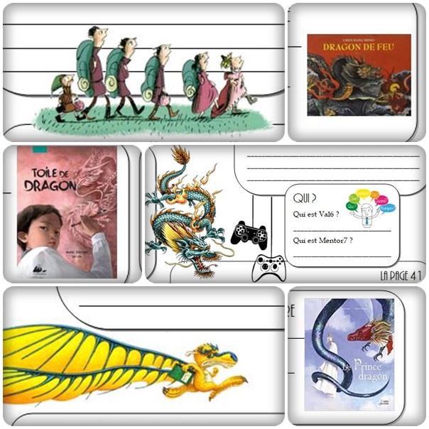 Les dragons – Littérature CM1/CM2