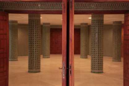 Porte et pilliers - Mosquée Hassan II - Casablanca