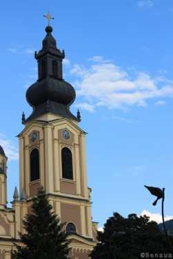 Photo d'une église orthodoxe à Sarajevo en Bosnie Herzégovine