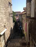 Centre ville de Dubrovnik - pres de l'auberge