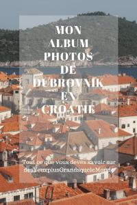 Mon album photo de Dubrovnik