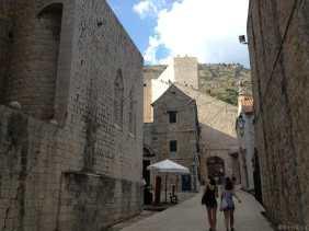 Photo d'une rue de Dubrovnik
