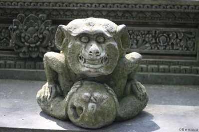 Statue du Palais Royal à Ubud