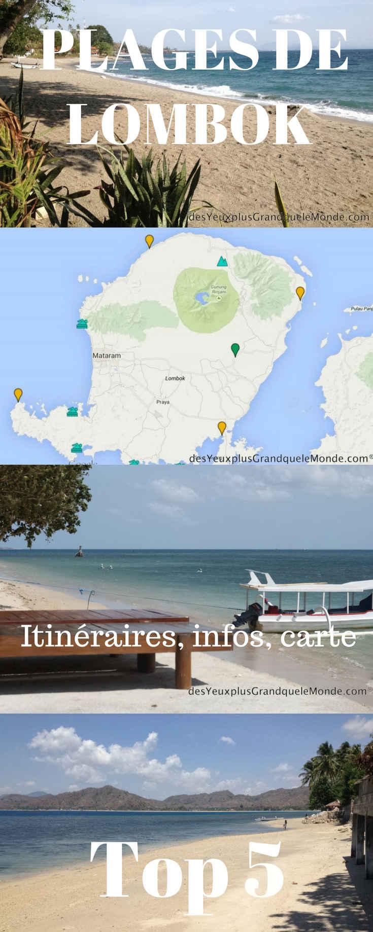 A découvrir dans cet article: 5 plages de Lombok à ne pas manquer, des informations, des itinéraires, une carte et des photos. Magnifique île de Lombok en Indonésie !